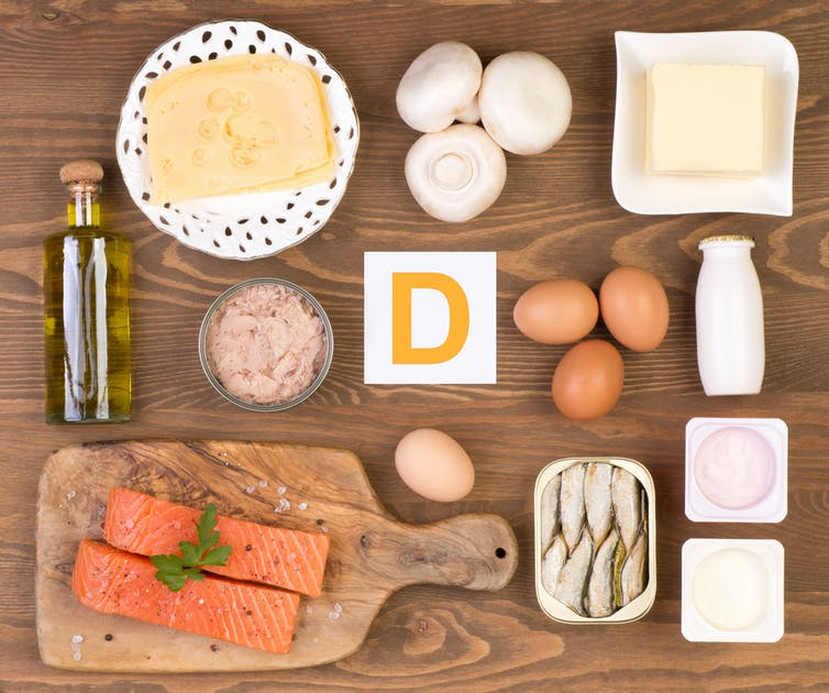 how to get vitamin D in your body